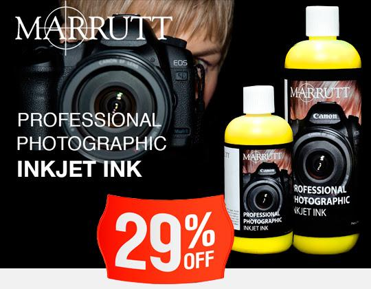 Marrutt 29% OFF Flash Deal on Paper / Ink